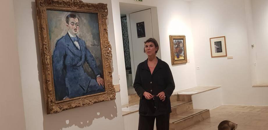 Séverine Berger, conservatrice de l'Annonciade présente une exposition très vivante sur le peintre Kees Van Dongen.