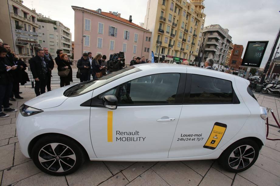 Le service Renault Mobility va prendre la suite d'Autobleue dès janvier 2019.