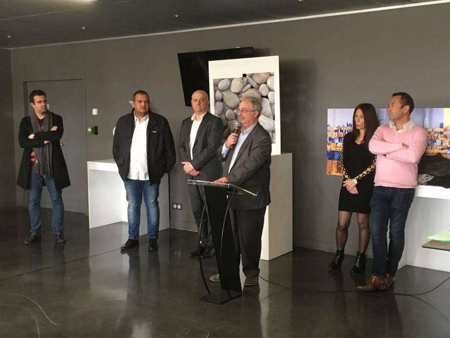 C'est en tant que président du conseil d'administration de l'office HLM que Marc Vuillemot a présenté, hier, ses vœux au personnel.