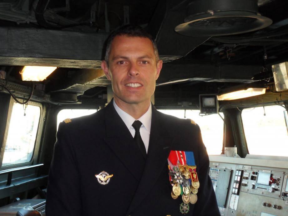Olivier Roussille a pris vendredi le commandement du Guépratte.