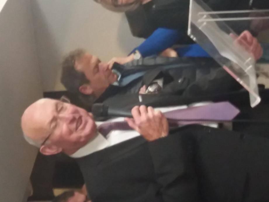 Le maire Jean-Pierre Véran a prononcé ses traditionnels vœux devant une salle comble et attentive.