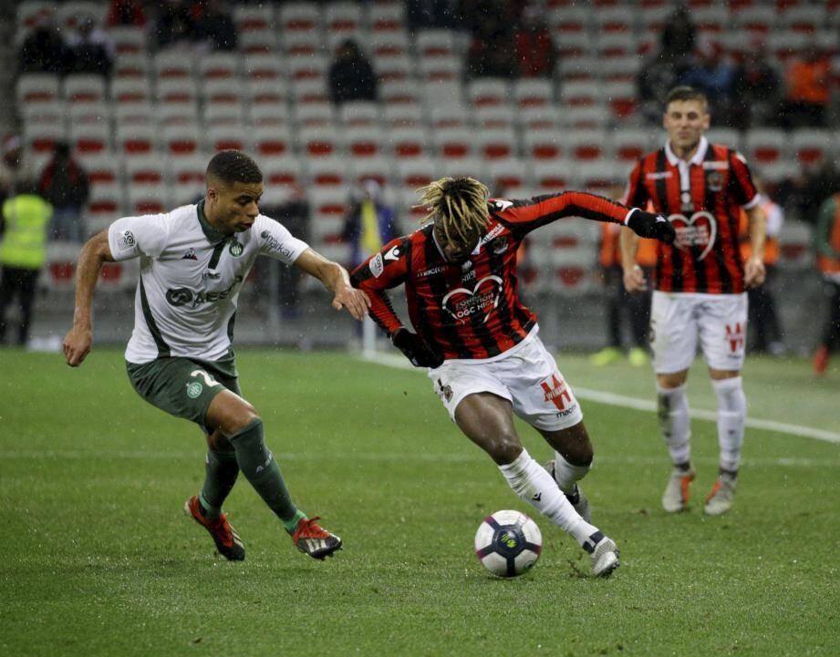 Umut Bozok (2 buts avec Nîmes) a été proposé par les actionnaires.(Ph. AFP)