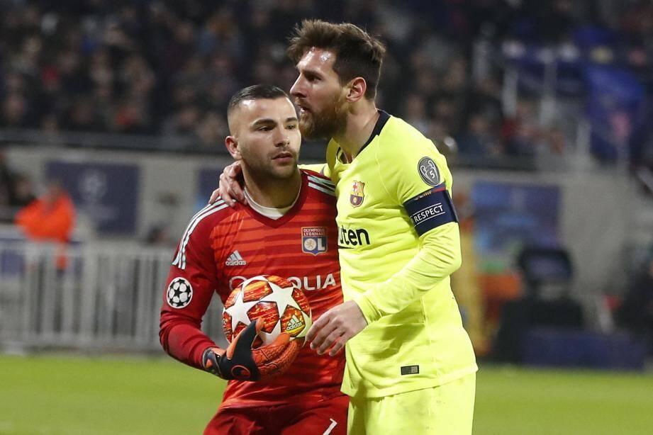 Messi est tombé sur un bon Lopes. Tout reste à faire...