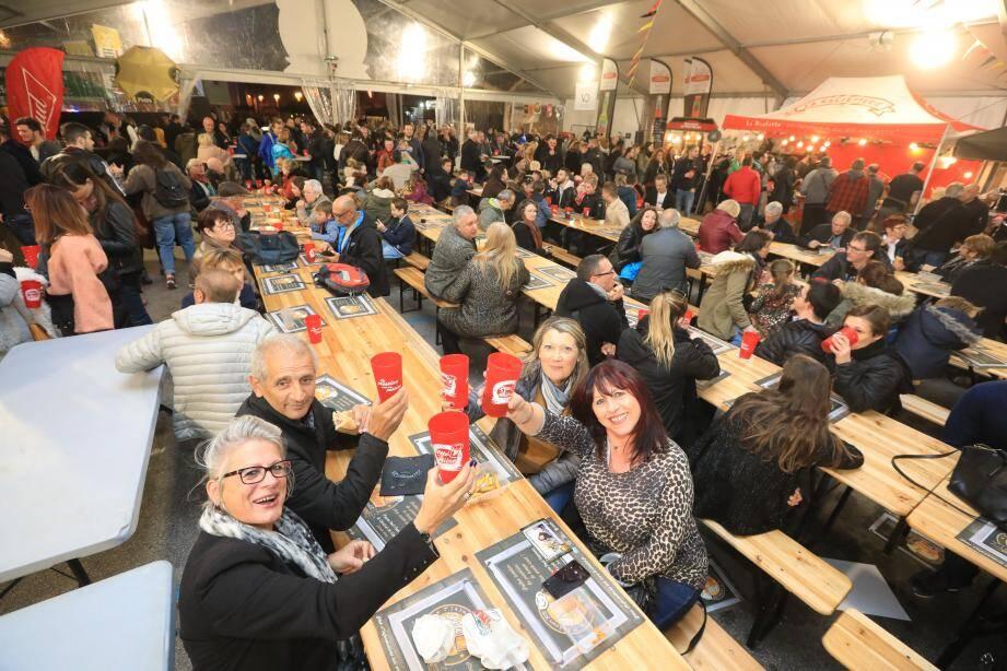 Dès hier soir, les amateurs de houblon se sont précipités au Pradet pour un rendez-vous devenu rituel.