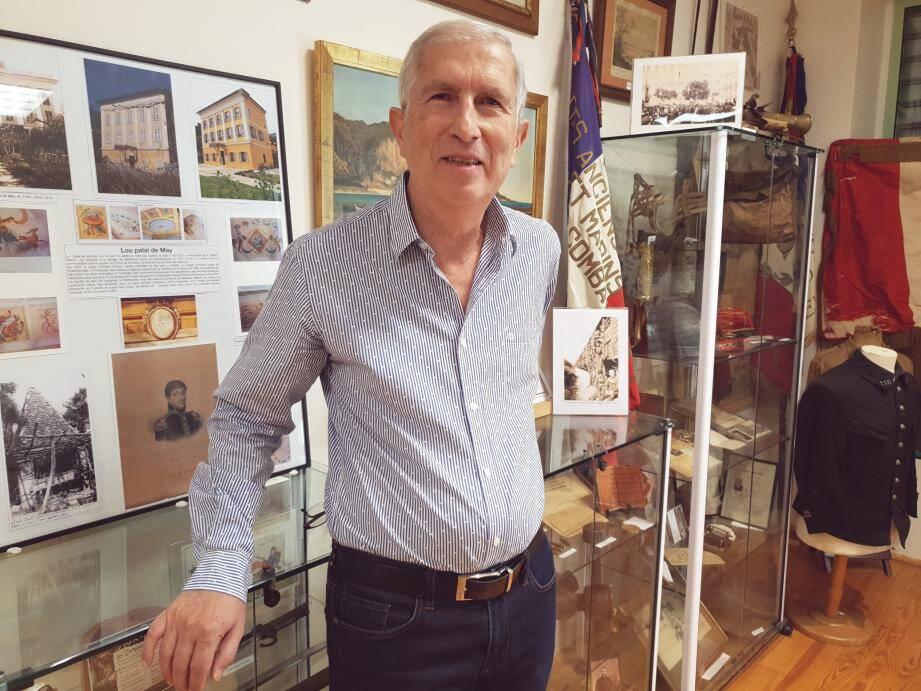 Thierry Garbatini, l'âme du musée du patrimoine berlugan, président de Beaulieu historique ».