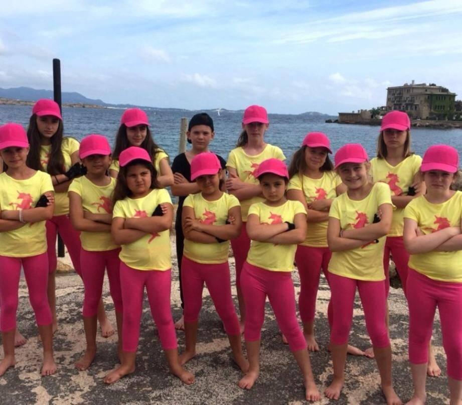 """Les plus jeunes danseurs d'""""Action, danse et forme""""..."""