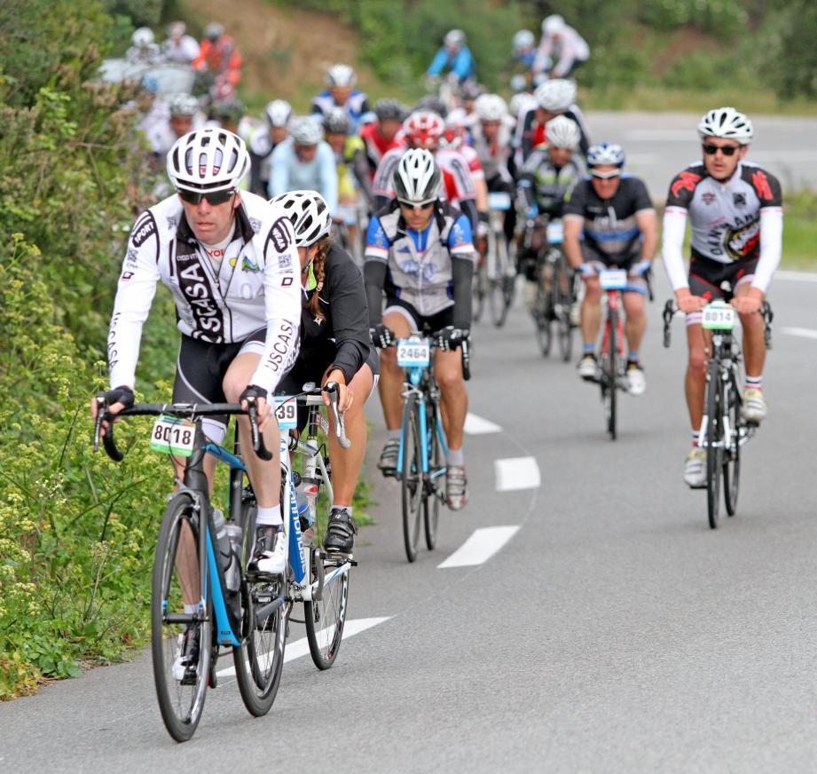 La cyclo Granfondo en 2018.