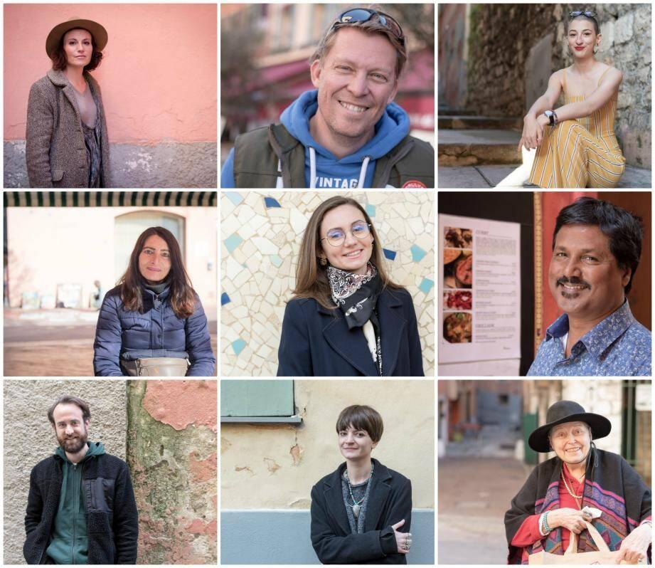 Avec ces inconnu(e)s croisés dans le Vieux Nice, il réalise des portraits de rue. Des rencontres à retrouver sur le blog du Vieux Nice.