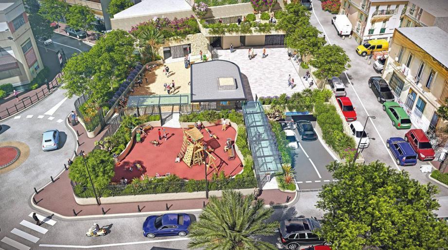 La place conçue en collaboration avec les riverains devrait être livrée en septembre.