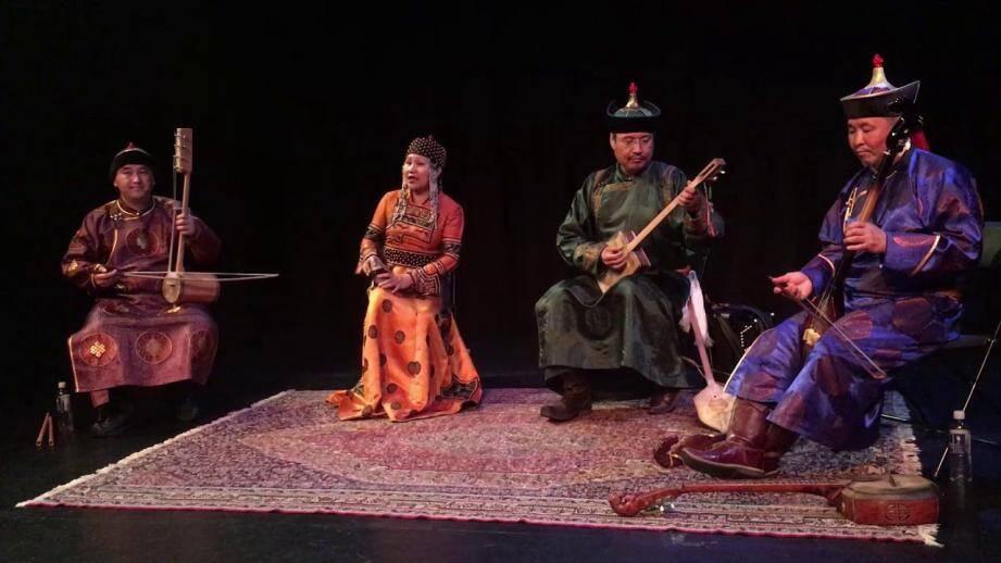 Ensemble de Mongolie Chirgilchin.(DR)