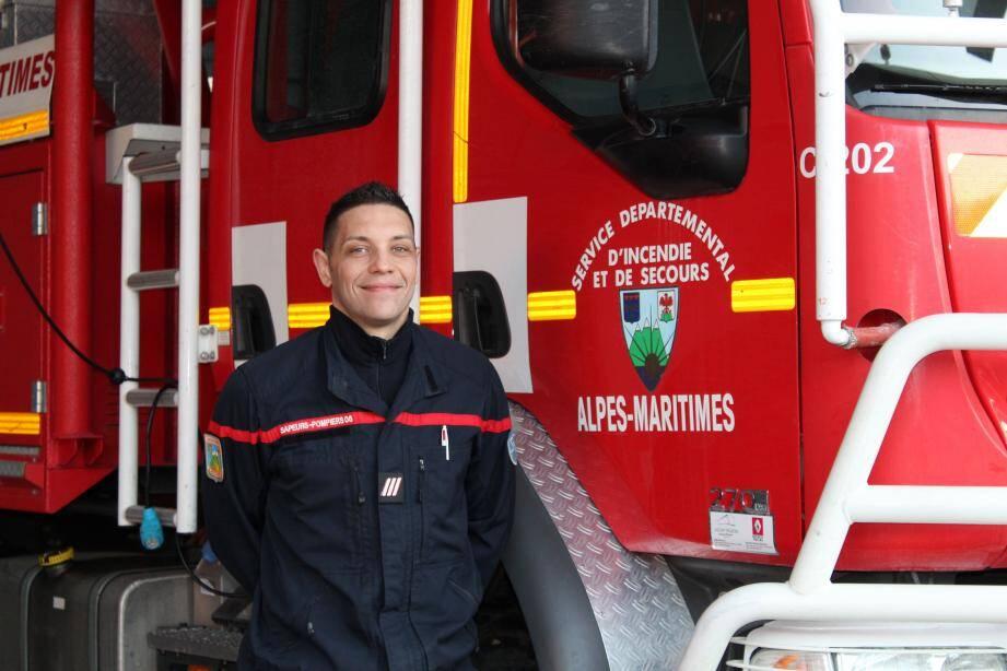 Romain Bois et l'équipe des Sapeurs Pompiers des Alpes-Maritimes recevront 24 équipes venues de toute la France.