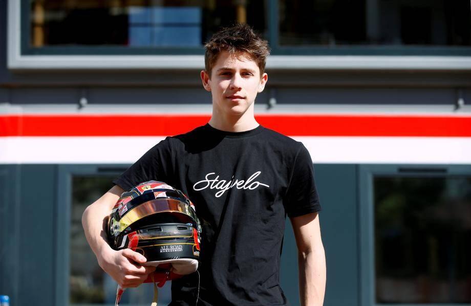 Arthur lors du Grand Prix de Monaco 2018.