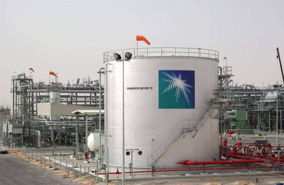 Réservoirs de pétrole à Haradh, en Arabie Saoudite.