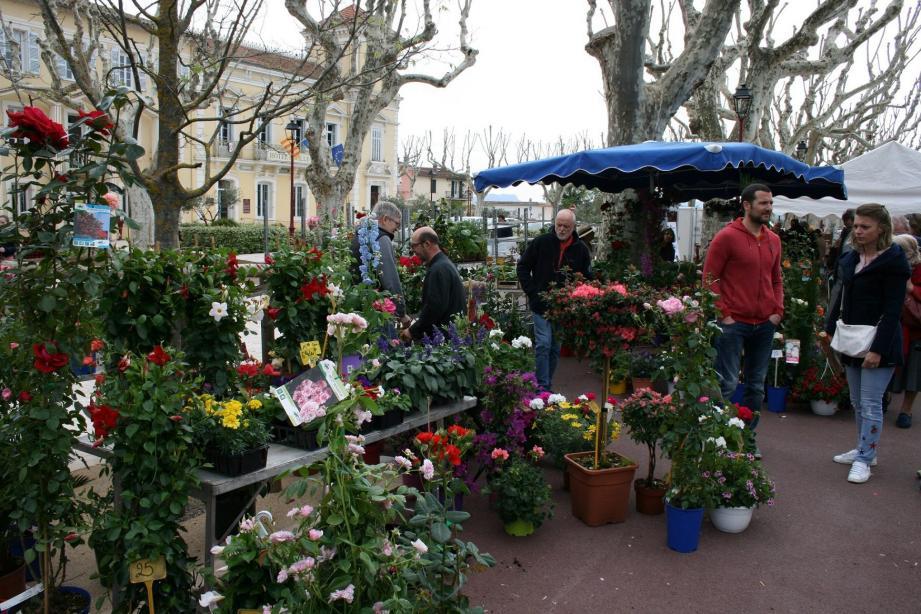 De jolis stands colorés fleuriront, dimanche, dans le théâtre de verdure du Réal.