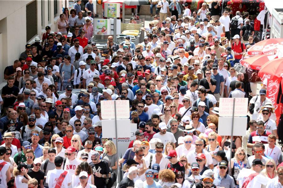 Plus de 200 000 visiteurs sont attendus d'ici à dimanche.
