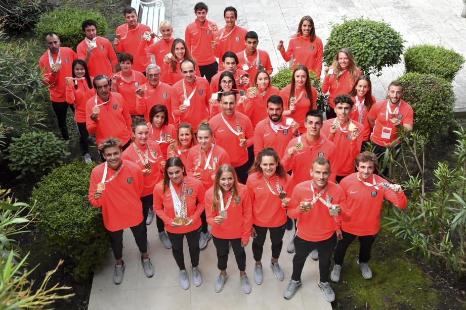 Les représentants de la principauté ont « affolé » les compteurs avec 47 médailles décrochées au Monténégro. Du jamais vu !
