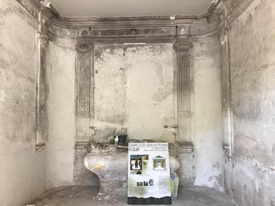 La chapelle Saint-Jean du Peyras va subir une rénovation globale.