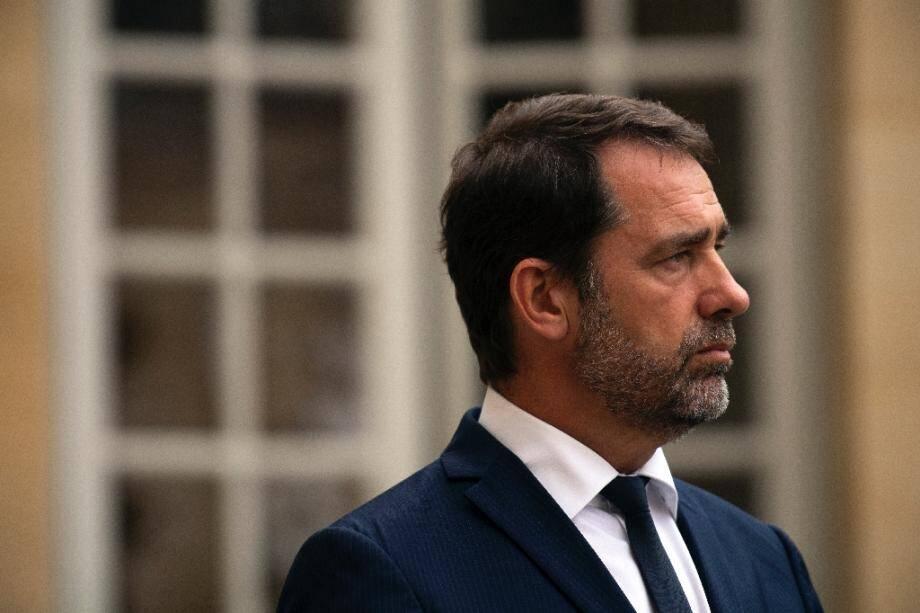 Le ministre de l'Intérieur Christophe Castaner, le 30 juillet 2019 à Paris
