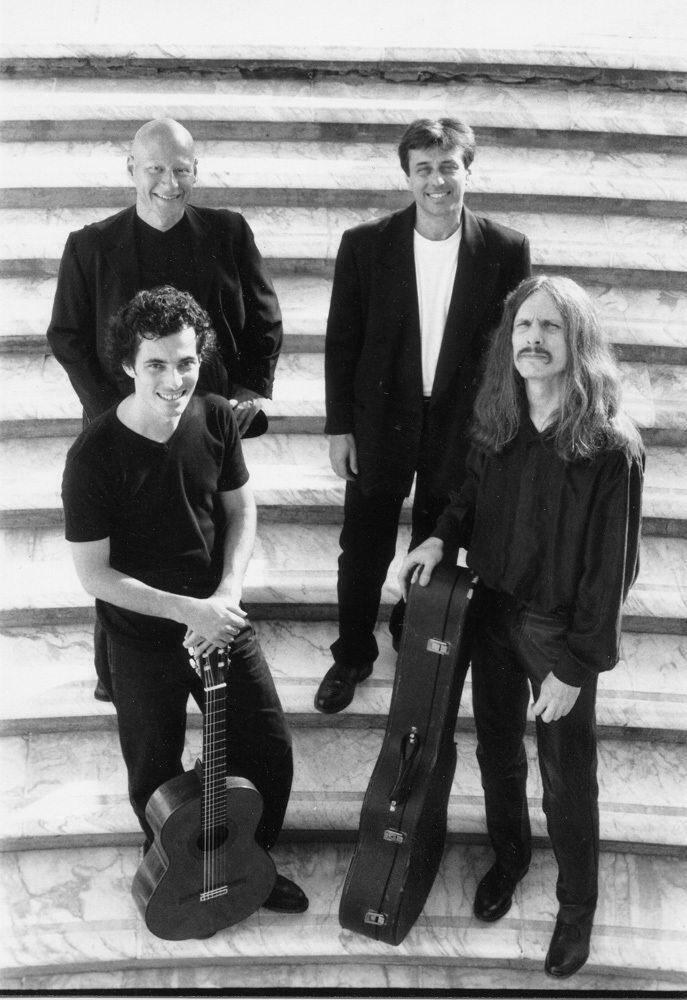 L'Aighetta quartet se produira le 8 août sur le parvis du château. (DR)