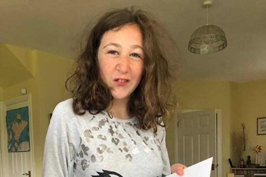 Nora Quoirin, une adolescente franco-irlandaise disparue depuis le 4 août 2019 en Malaisie, dans une photo récente diffusée par sa famille le 5 août 2019