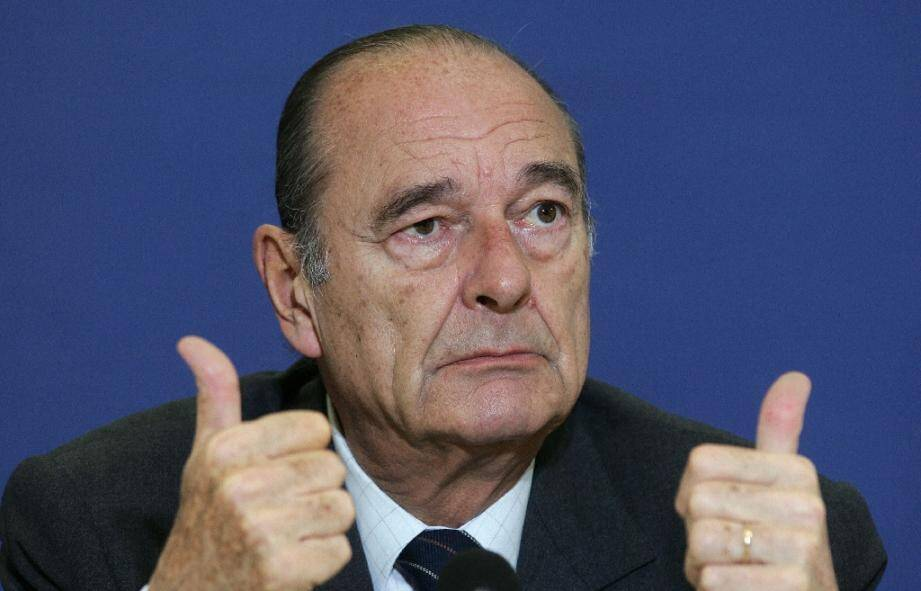 Jacques Chirac le 24 mars 2006 à Bruxelles
