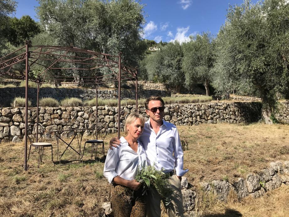 Marianne et Jean-Marie Bertin sont les nouveaux propriétaires du domaine de La Royrie.