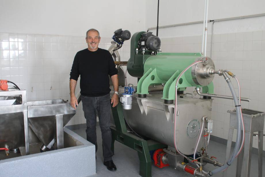 José Giacobi, le futur moulinier, a pris possession  de ses nouveaux locaux lors de cette inauguration.