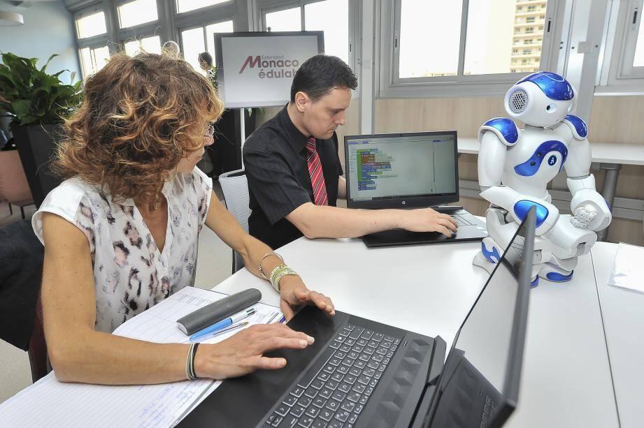 Parmi les projets de cette éducation numérique : l'initiation à la programmation.