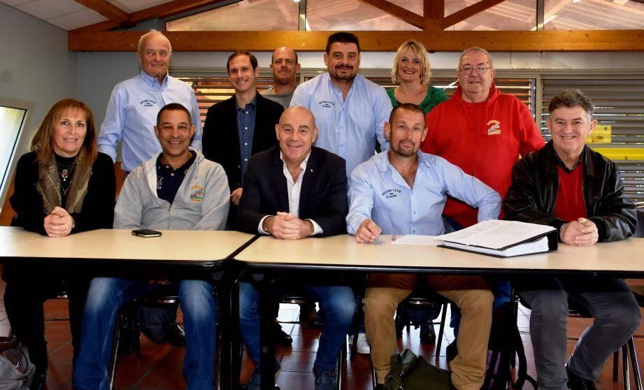 Une assemblée générale importante en présence du maire François Arizzi.