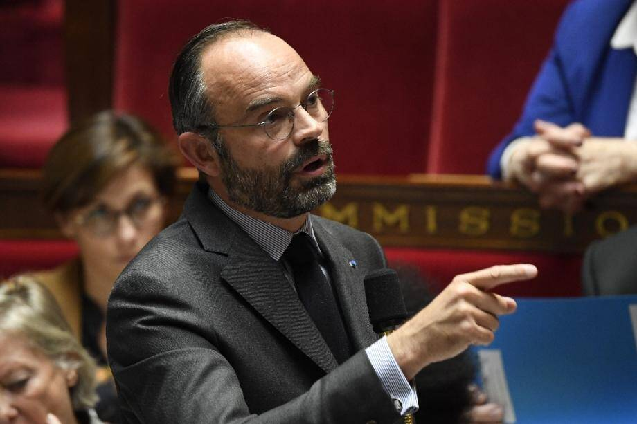 Le Premier ministre Edouard Philippe à l'Assemblée nationale le 12 novembre 2019