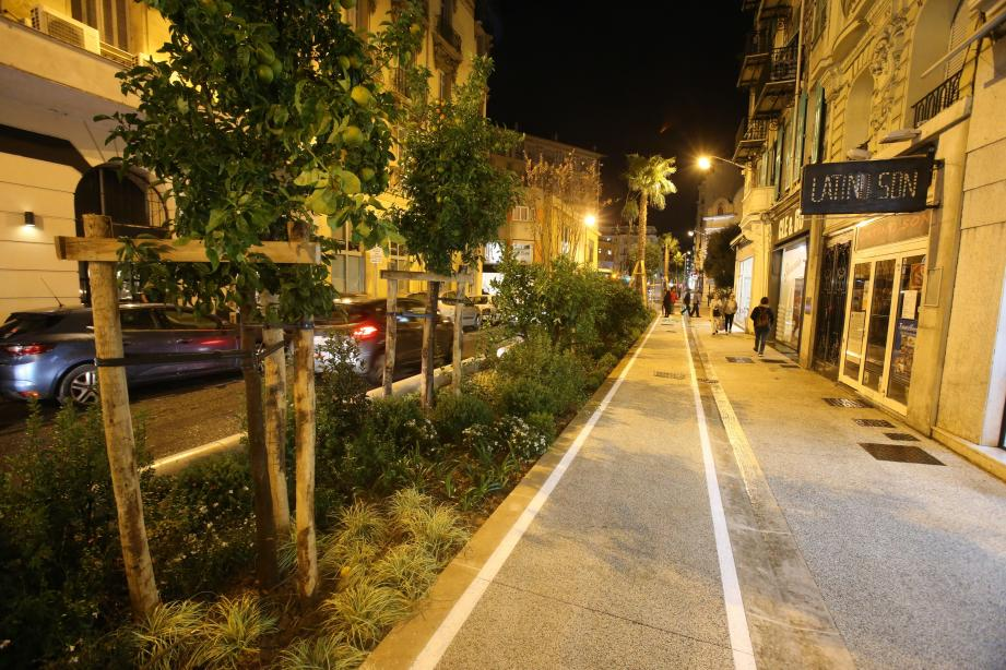 La première trame verte de Nice inaugurée ce jeudi soir.
