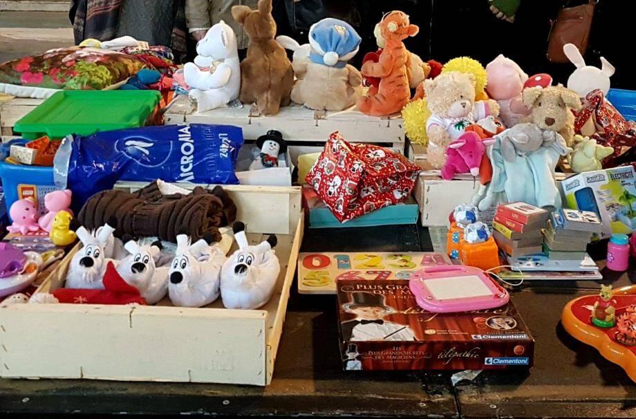 La bourse aux jouets pour faire des cadeaux et éviter de jeter ses jouets qui ne servent plus.