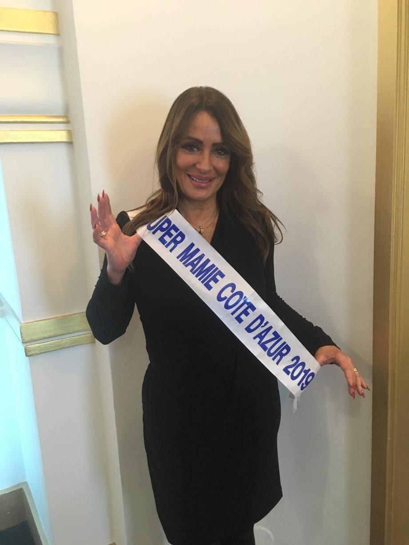 Yami Maria Christina, Cagnoise d'adoption de 55 ans, a été élue Super mamie Côte d'Azur 2019.(D.R)