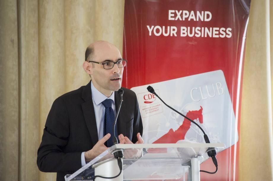 Lionel Galfré, le nouveau directeur.