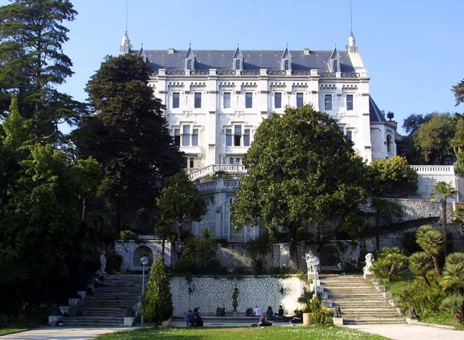 Le campus Valrose, à Nice.