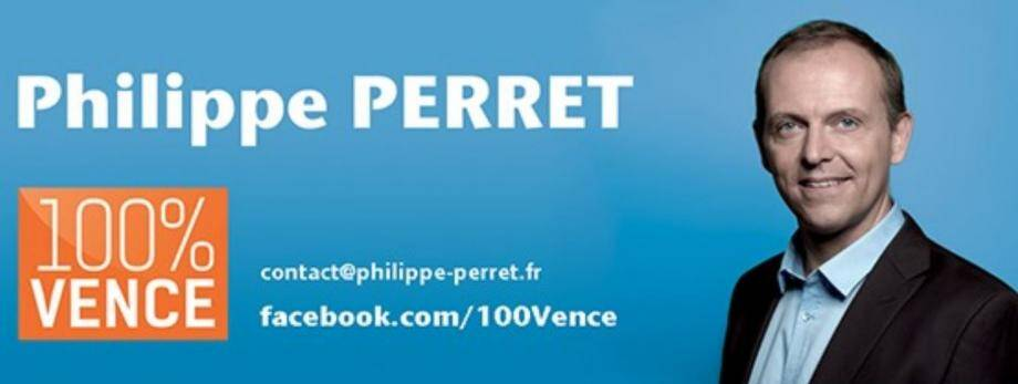 Philippe Perret renonce à sa liste 100% Vence... (DR)