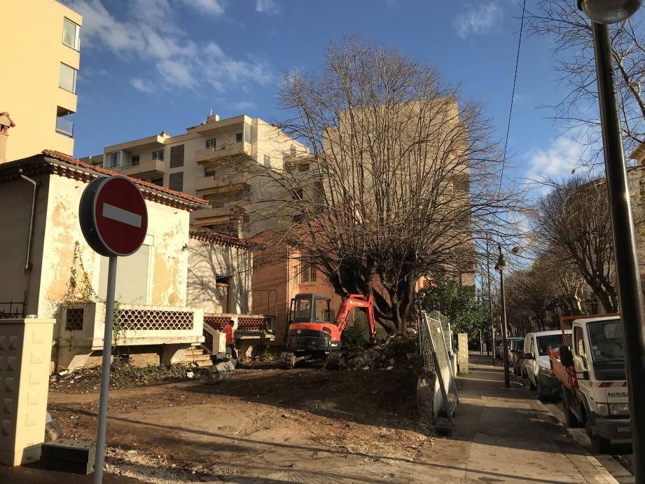 Le futur jardin, au 17 boulevard Foch, sera très complanté, avec arbustes, arbres, plantes vivaces, etc.  (Document Ville d'Antibes)