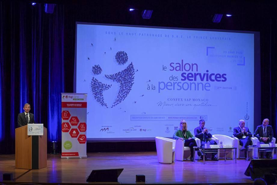 Les visiteurs ont pu participer à 4 conférences sur des thèmatiques bien précises en lien avec le SAP.