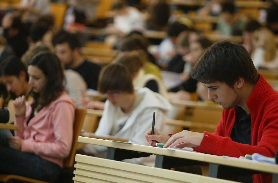 Un examen à la fac de médecin de Nice, ici en 2016 (image d'illustration).