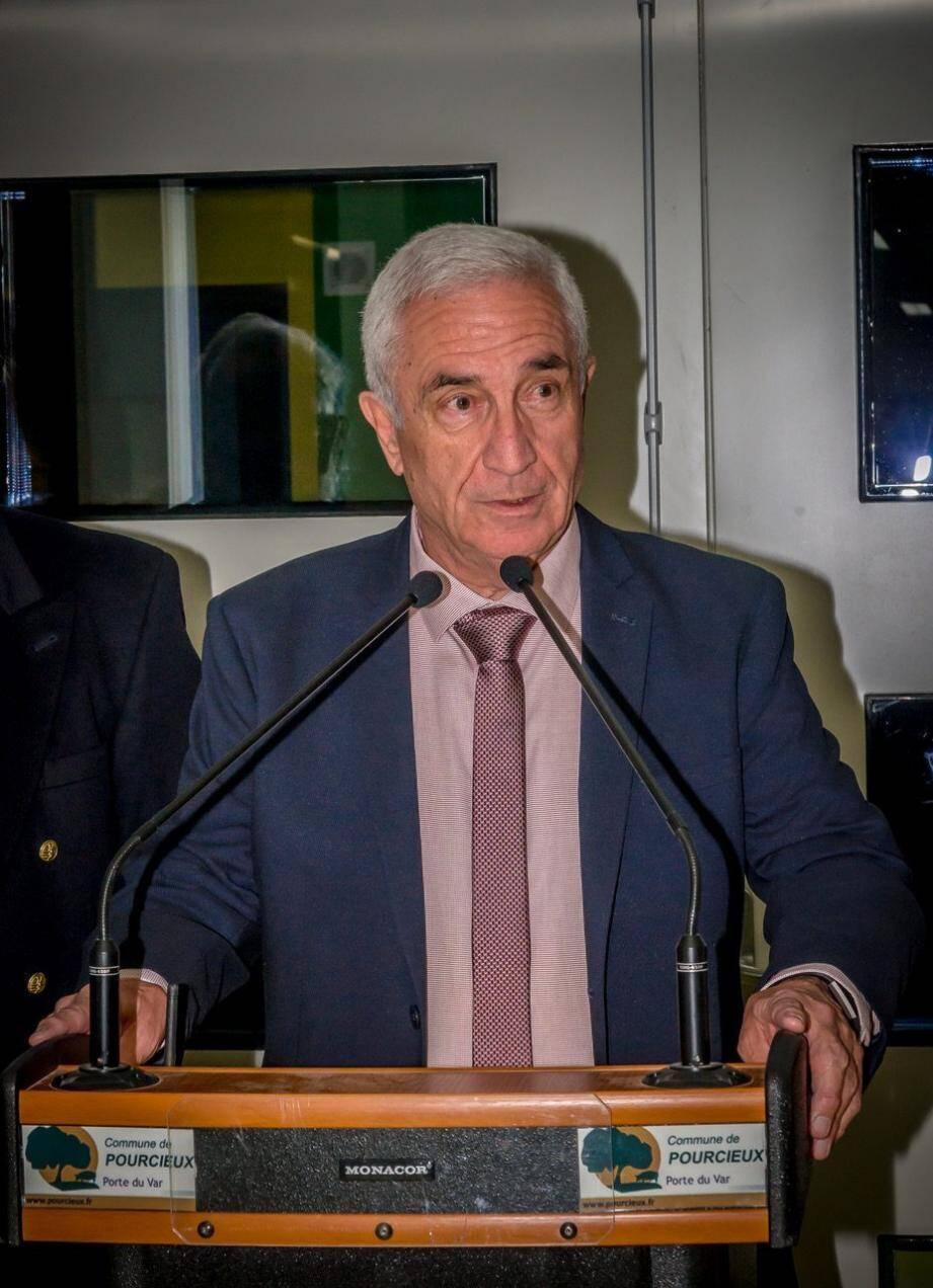 Claude Porzio a remercié les commerçants du village de toujours être présents.