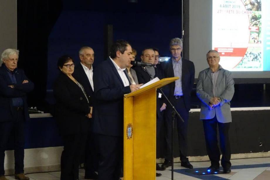 Le maire a rappelé que le combat pour garder la gendarmerie à Barjols n'est pas terminé.