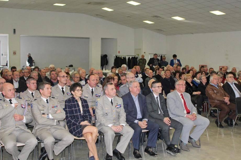 Plus de 150 personnes étaient présentes pour cette première réunion de l'année.