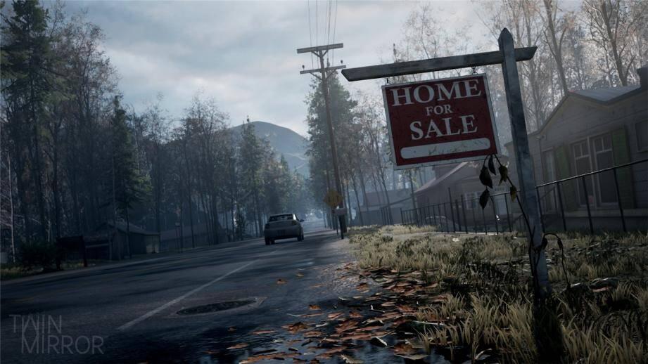 Un aperçu de l'univers du jeu Twin Mirror dont la sortieest prévue pour fin 2020.