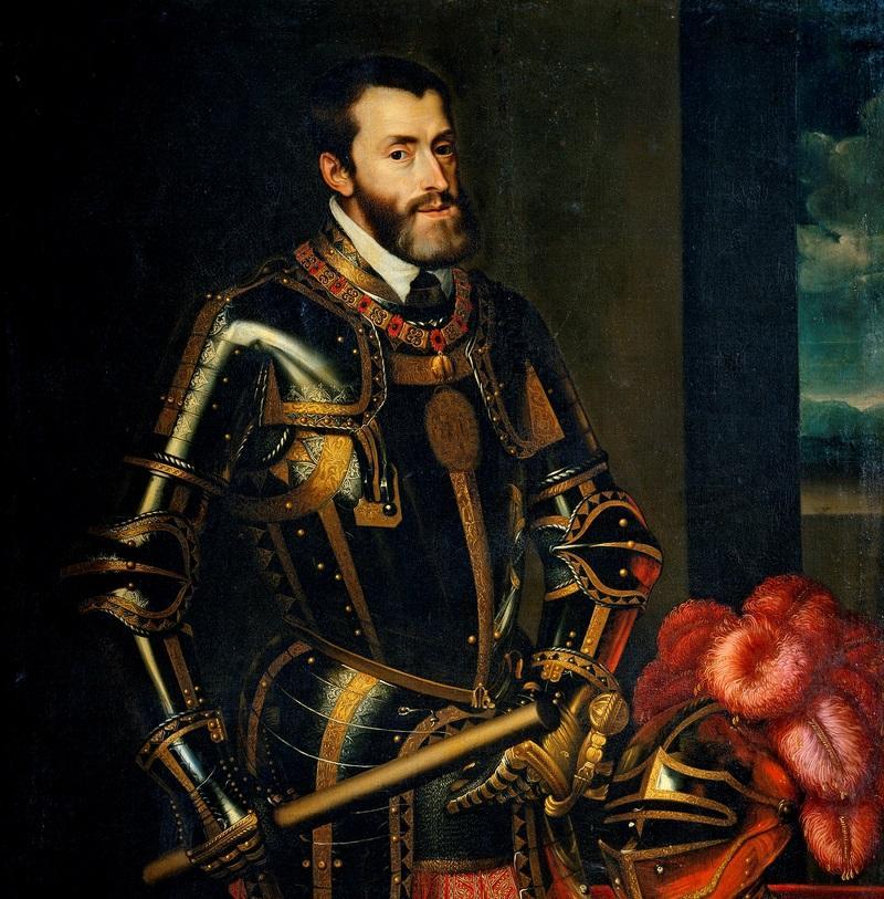 Lorsque se produisit l'incident,  Charles Quint, depuis deux ans, faisait la guerre à François Ier.
