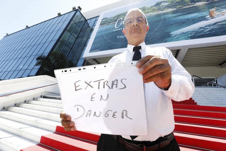 """""""Si l'Etat ne fait rien, la filière de l'événementiel va payer le prix fort"""", annonce Jean-Daniel Ortiz."""