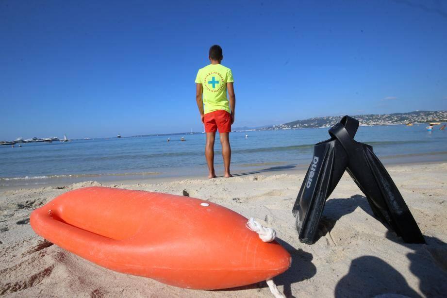 La plage Richelieu cristallise le plus d'interventions cette saison à Antibes.
