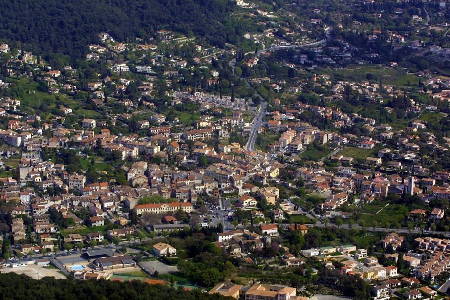 Vue sur La Colle-sur-Loup