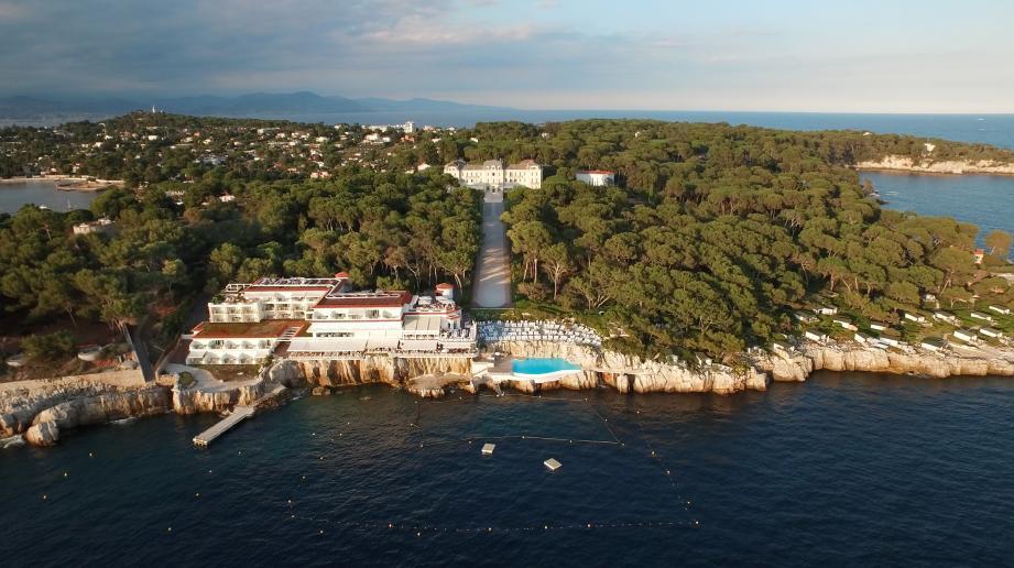 L'hôtel du Cap-Eden-Roc.