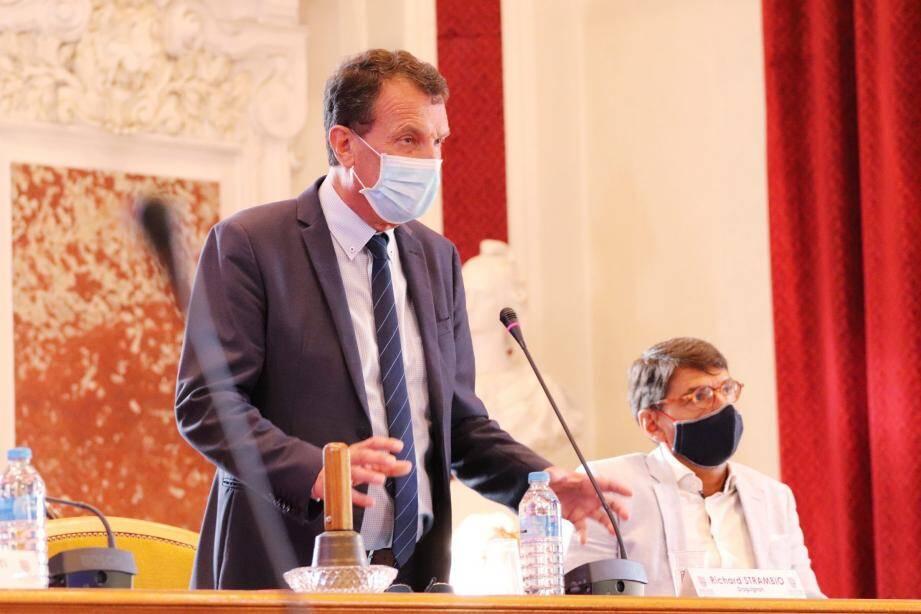Richard Strambio est élu président de Dracénie Provence Verdon agglomération.
