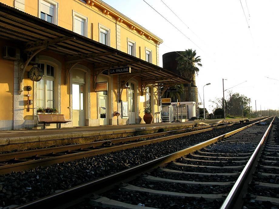 La gare de La Pauline est au centre du projet Ligne nouvelle.